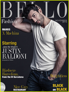 Justin Baldoni is One Hot Dad on 'Bello' Cover!