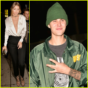Justin Bieber & Gigi Hadid Attend Kendall Jenner's Birthday Party!
