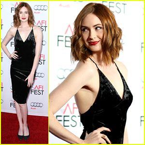 Karen Gillan Turns Heads At 'The Big Short' Hollywood Premiere