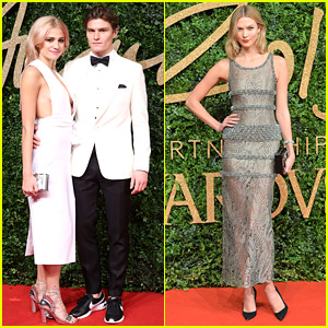 Pixie Lott & Karlie Kloss Are Stylish Stars at British Fashion Awards 2015!