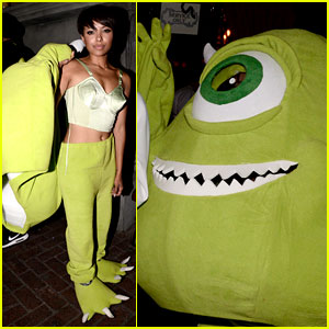 Kat Graham's 'Monsters Inc.' Costume Is So Good!
