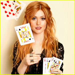Katherine McNamara Supports Girl Up SchoolCycle Campaign