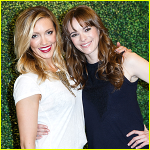 Danielle Panabaker & Katie Cassidy Had A Girl's Night Out With Rag & Bone