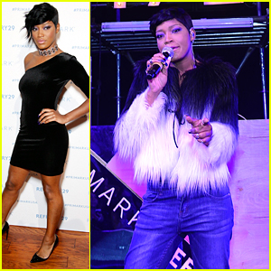 Keke Palmer Hosts & Performs At Refinery29's Club Primania Event