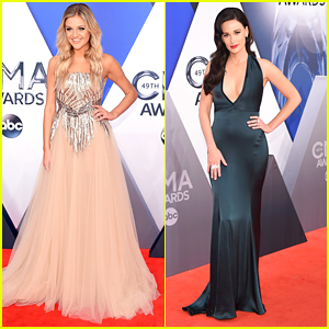 Kelsea Ballerini & Allie Allen Glam Up For CMA Awards 2015