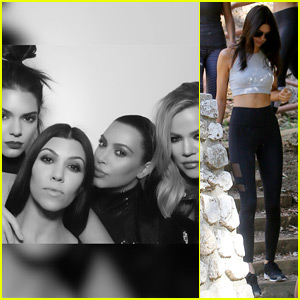 Kendall Jenner Hits the Birthday Photo Booth With Famous Friends & Family!