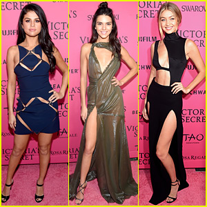 Selena Gomez Joins Models Kendall Jenner & Gigi Hadid at VS After Party!