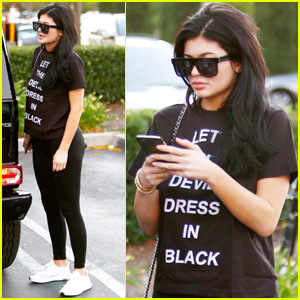 Kylie Jenner Shops Solo Amid Tyga Breakup Reports