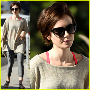 Lily Collins Proves That Her Pie Game is Strong