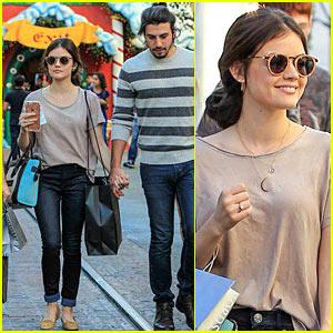 Lucy Hale Shops The Grove with Boyfriend Anthony Kalabretta, Ronen Robenstein Joins Lucy's Movie 'Dude'