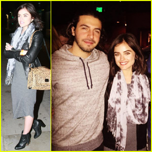 Lucy Hale & Boyfriend Anthony Kalabretta Have Date Night at Chris Stapleton Concert!