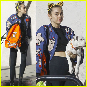 Miley Cyrus Adopts an Adorable New Puppy!