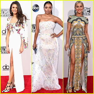 Nina Dobrev & More Make Fashionable Entrances at the AMAs 2015!