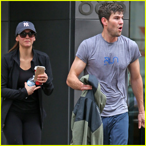 Nina Dobrev & Boyfriend Austin Stowell Do Hot Yoga Together in Vancouver!