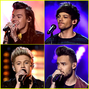 One Direction Takes the Stage for AMAs 2015 Performance - Watch Now!