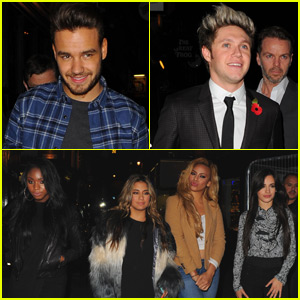 One Direction Hangs Out With Fifth Harmony in London!