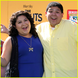 Raini & Rico Rodriguez Pair Up for 'The Peanuts Movie' Premiere