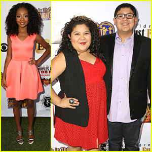 Raini Rodriguez & Skai Jackson Salute Kids In The Spotlight