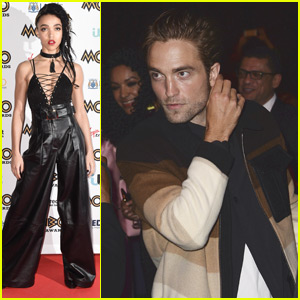 Robert Pattinson Makes Rare Appearance to Support Fiance FKA Twigs!