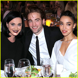 Robert Pattinson & FKA twigs Support GO Campaign with Katy Perry!