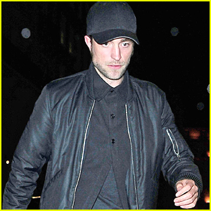 Robert Pattinson & FKA Twigs Avoid The Cameras While Out in Mayfair