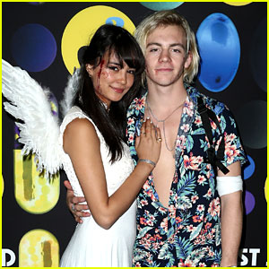 Ross Lynch & Courtney Eaton Are Romeo & Juliet at JJ's Halloween Party!
