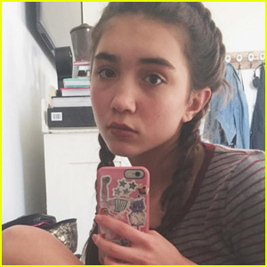 Rowan Blanchard Wants You to Stop Telling Her to Smile on Instagram