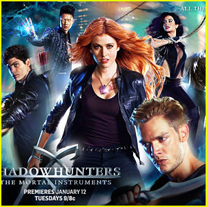'Shadowhunters' Debut Official Poster With Help From Fans
