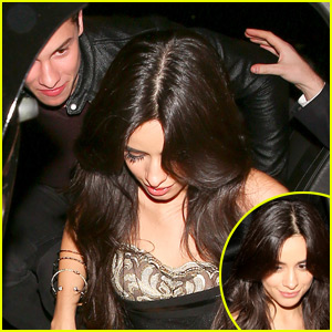 Camila Cabello & Shawn Mendes Arrive at Justin Bieber's AMA Party Together!