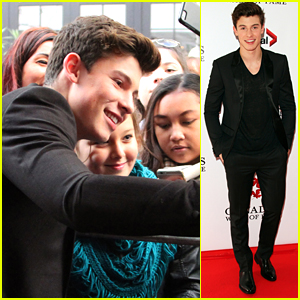 Shawn Mendes Honored A Canada's Walk Of Fame Ceremony