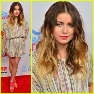 Sofia Reyes Goes Colorful for iHeartRadio Fiesta Latina 2015
