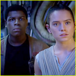 Daisy Ridley & John Boyega Star in New 'Star Wars' International Trailer!