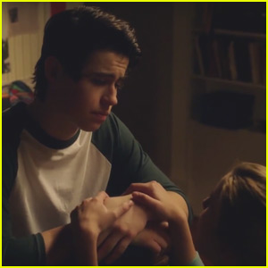 Nash Grier & Caroline Sunshine Get Emotional in 'The Outfield' - Watch This Exclusive Clip!