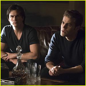 Stefan & Damon Uncover A Family Secret On Tonight's 'Vampire Diaries'