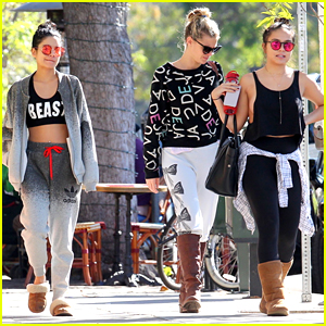 Vanessa Hudgens Lunches With Laura New After Jordan Fisher 'Grease' Casting News