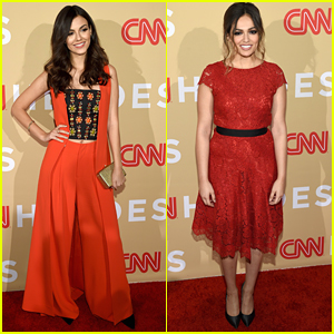 Victoria Justice & Bethany Mota Honor 'Young Wonders' At CNN Heroes 2015