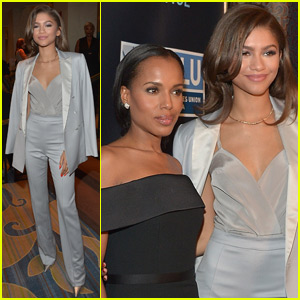 Zendaya Hangs With the Cast of 'Scandal' & We're Totally Jealous!