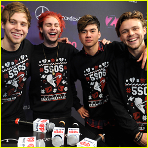 5 Seconds of Summer Wear Christmas Sweaters For Z100's Jingle Ball 2015