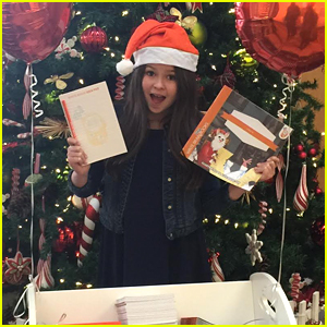 The Thundermans' Addison Riecke Teams Up With Write Brain Books & Gifts Patients at CHLA!