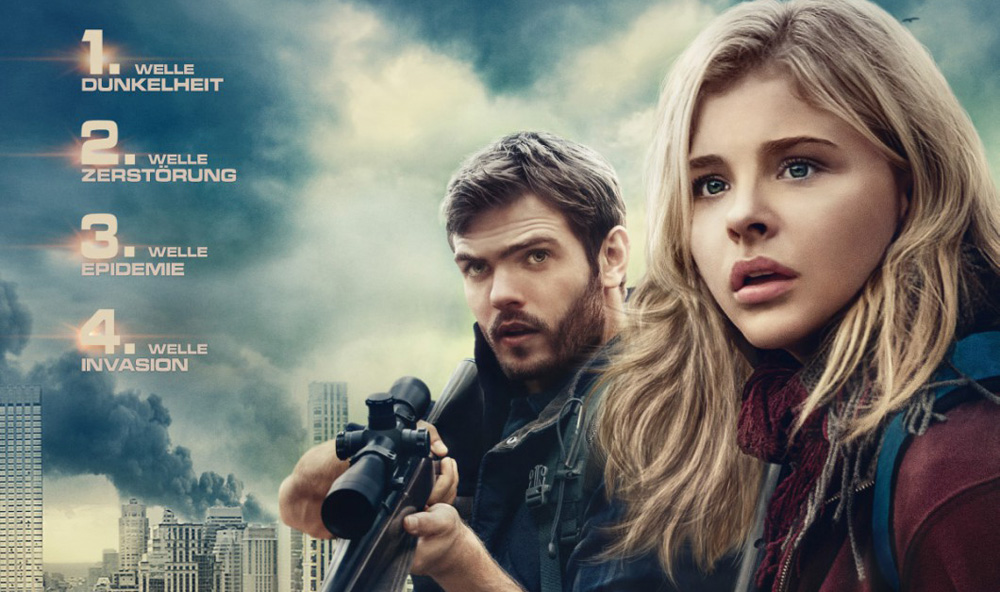 Alex Roe Featured On German Poster For 'The 5th Wave ...