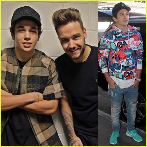 Austin Mahone Hangs Out With Liam Payne!