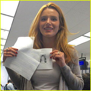 Bella Thorne Gets Her Driver's License!
