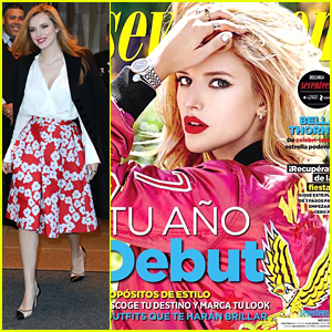 Bella Thorne Shares 'Seventeen Mexico' Cover - See It Here!