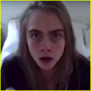 Cara Delevingne Wears a Turkey Head in 'Love' Mag Advent Video