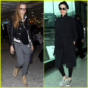 Cara Delevingne Spends Time with Girlfriend St. Vincent