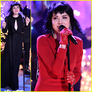 Carly Rae Jepsen Performs 'Last Christmas' For Rockefeller Center's Tree Lighting Ceremony 2015 - Watch Now!