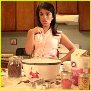 Chrissie Fit Bakes Up a Storm in New 'Santa Baby' Music Video - Watch Now!