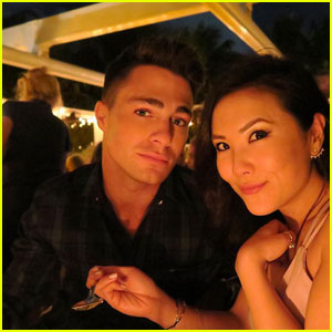 Colton Haynes Wishes BFF Ally Maki a Very Happy Birthday!
