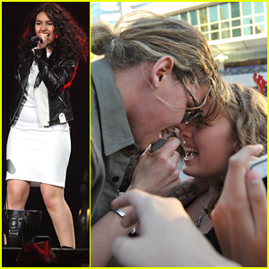 Conrad Sewell Gets Up Close & Personal With Fans at Tampa Jingle Ball 2015