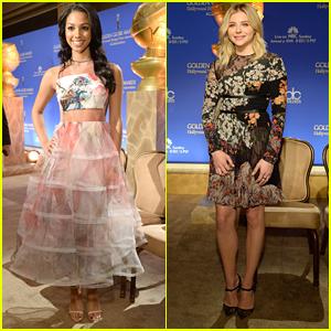 Miss Golden Globe Corinne Foxx Stuns at Golden Globe Nominations 2016